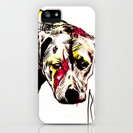 The sadness of streetdogs iPhone Case
