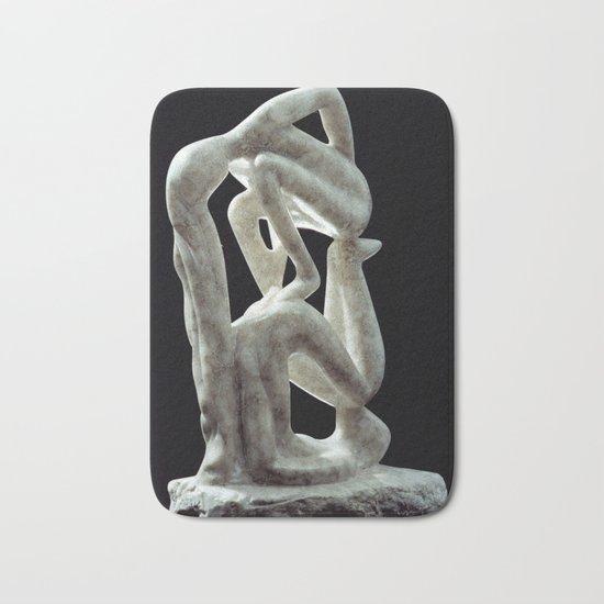Amnon and Tamar by Shimon Drory Bath Mat