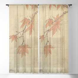Asiafoldantique Sheer Curtain