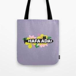 Hafa Adai - Tropical Guam Submarine Tote Bag