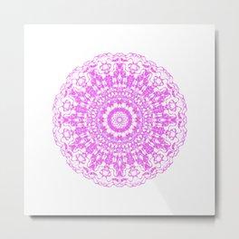 Mandala 12 / 2 eden spirit pink Metal Print