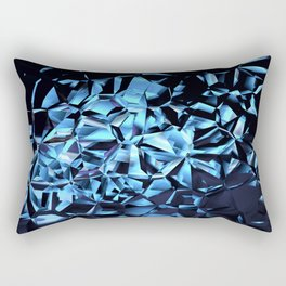 Glittering Crystal  Rectangular Pillow