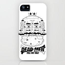 dead men tell no tale iPhone Case