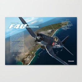 F4U Corsair Canvas Print