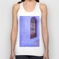 greek Tank Tops featuring Greek Blues by Steve P Outram