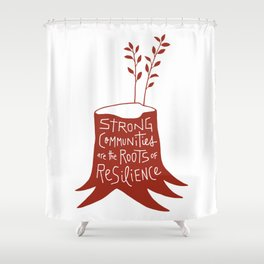 Roots of Resilience Shower Curtain