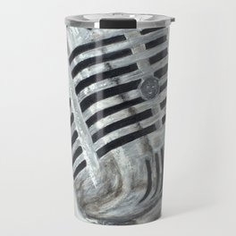 Vintage Microphone Travel Mug