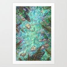 Shimizu's Way Art Print