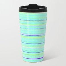 Lemon and Lime Metal Travel Mug