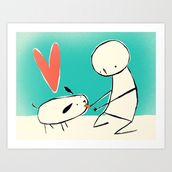 Perrito/Doggie Art Print
