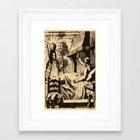 sandman Framed Art Prints featuring The Sandman by DOOMSDAY