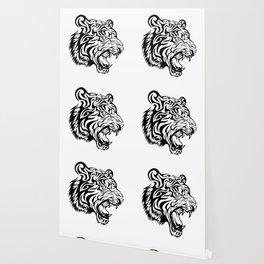 Aggressive Tiger Wallpaper