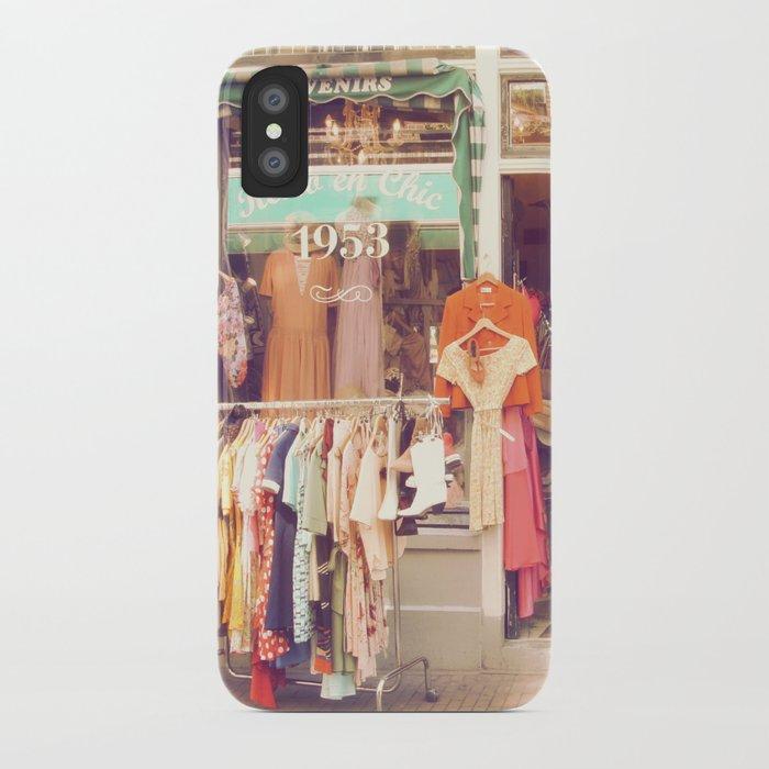 Vintage Shop iPhone Case