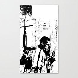 The War Just Begun Canvas Print