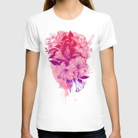 hibiscus T-shirts featuring Hibiscus by Magenda