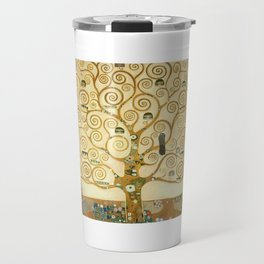Gustav Klimt - Tree of Life Travel Mug