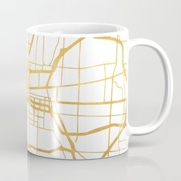 COLUMBUS OHIO CITY STREET MAP ART Coffee Mug
