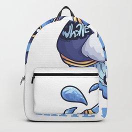 I Hate People Wal saying gift Backpack