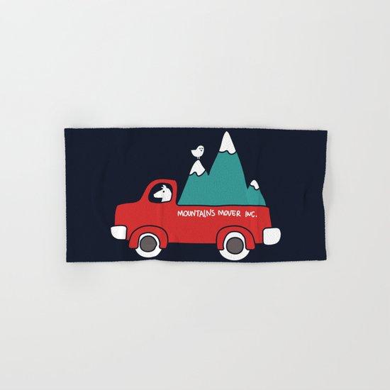 Moving Mountains Hand & Bath Towel