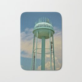 Tower And Clouds Bath Mat