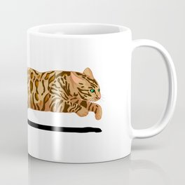 Bengal Running Coffee Mug