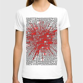 Explosion of Love T-shirt