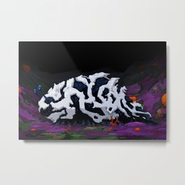Urban Crawl Metal Print
