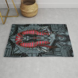 Sacred Dark Queen Rug