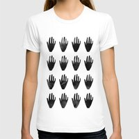 hands T-shirts featuring hands by namaki