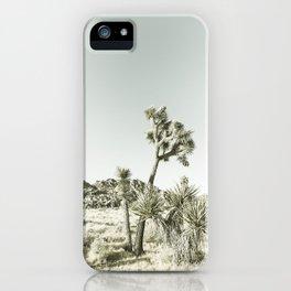 Joshua Tree National Park | Vintage iPhone Case