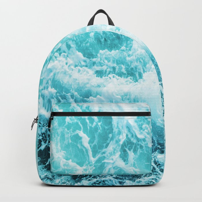 Perfect Sea Waves Backpack