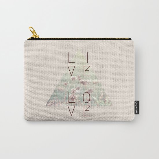 Live & Love Vintage Carry-All Pouch