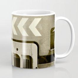 Road Roller Chevron 05 - Industrial Abstract Coffee Mug