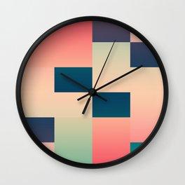 Abstract Summer #society6 #decor #buyart Wall Clock