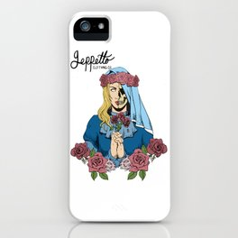 Geppetto Dead Bride iPhone Case