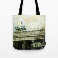 berlin collage Tote Bag