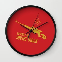 Dragunov SVD (Product of SOVIET UNION) Wall Clock