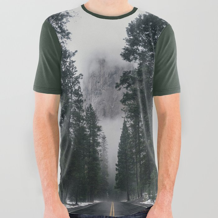 Forest Way All Over Graphic Tee