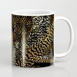 glowing golden swirly tree Coffee Mug