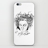 laura palmer iPhone & iPod Skins featuring Laura Palmer by Paula Benítez