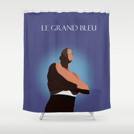 Le Grand Bleu, Enzo Shower Curtain