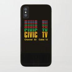 CIVIC TV Slim Case iPhone X