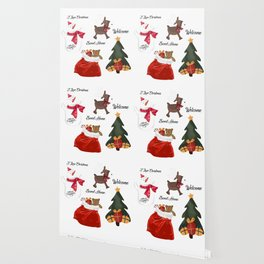 Christmas decoration two Wallpaper