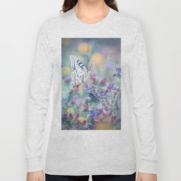 The Old World swallowtail butterfly Long Sleeve T-shirt