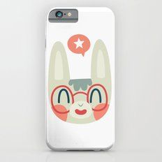 Cute Green Bunny Wearing Glasses Slim Case iPhone 6s