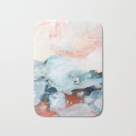 abstract painting III Bath Mat