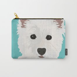 Westie Terrier Carry-All Pouch