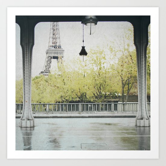 Letters From Autumn in Paris Art Print