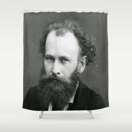 Portrait of Manet by Nadar Shower Curtain