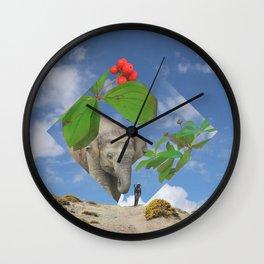 Elephas canadensis Wall Clock